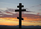 Cross & Sunset